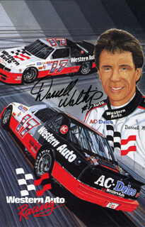 DARRELL L. WALTRIP - AUTOGRAPHED SIGNED PHOTOGRAPH  - HFSID 153984