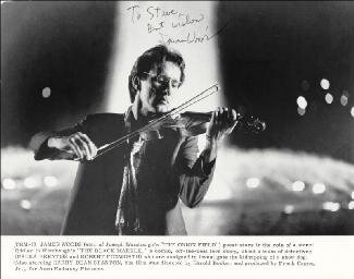 JAMES WOODS - AUTOGRAPHED INSCRIBED PHOTOGRAPH