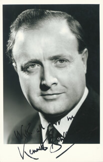 KENNETH BOWEN - AUTOGRAPHED SIGNED PHOTOGRAPH