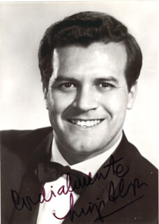 Autographs: LUIGI ALVA - PHOTOGRAPH SIGNED