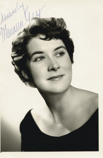 MAUREEN GUY - AUTOGRAPHED SIGNED PHOTOGRAPH