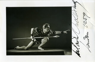 VLADIMIR OUKHTOMSKY - AUTOGRAPHED SIGNED PHOTOGRAPH CIRCA 1959