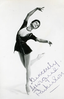 GEORGINE PARKINSON - AUTOGRAPHED SIGNED PHOTOGRAPH