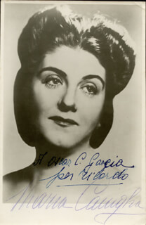 MARIA CANIGLIA - AUTOGRAPHED INSCRIBED PHOTOGRAPH