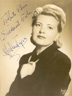 HELEN JEPSON - AUTOGRAPHED INSCRIBED PHOTOGRAPH
