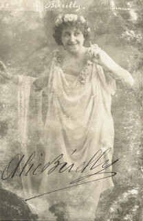 ALICE BERELLY - AUTOGRAPHED SIGNED PHOTOGRAPH