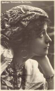 BLANCHE CUVELIER - AUTOGRAPHED SIGNED PHOTOGRAPH