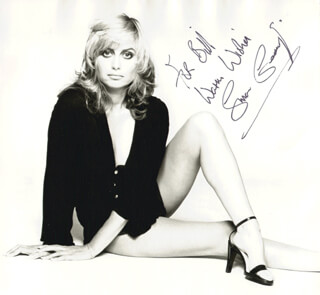 SUSAN GEORGE - AUTOGRAPHED INSCRIBED PHOTOGRAPH