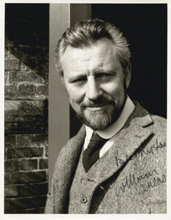 WILLIAM LUCAS - AUTOGRAPHED SIGNED PHOTOGRAPH
