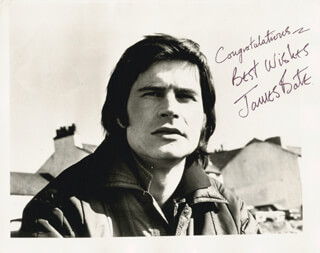 JAMES BATE - AUTOGRAPHED SIGNED PHOTOGRAPH