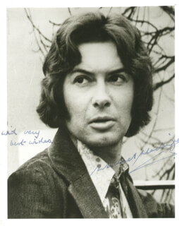 MICHAEL MACKENZIE - AUTOGRAPHED SIGNED PHOTOGRAPH