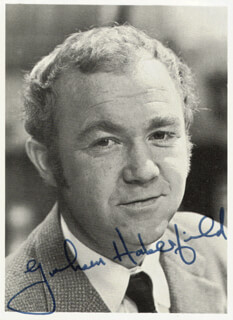 GRAHAM HABERFIELD - AUTOGRAPHED SIGNED PHOTOGRAPH