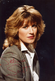 SELINA SCOTT - AUTOGRAPHED SIGNED PHOTOGRAPH