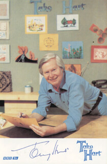 TONY HART - AUTOGRAPHED SIGNED PHOTOGRAPH
