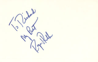 REGIS PHILBIN - AUTOGRAPH NOTE SIGNED