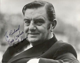 BILL DEAN - AUTOGRAPHED INSCRIBED PHOTOGRAPH