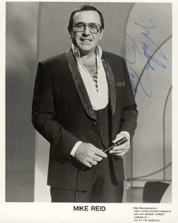 MIKE REID - AUTOGRAPHED SIGNED PHOTOGRAPH