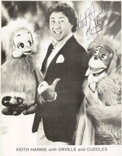KEITH HARRIS - AUTOGRAPHED SIGNED PHOTOGRAPH