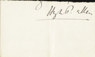 Autographs: SIR HUGH PERCY ALLEN - AUTOGRAPH LETTER FRAGMENT SIGNED