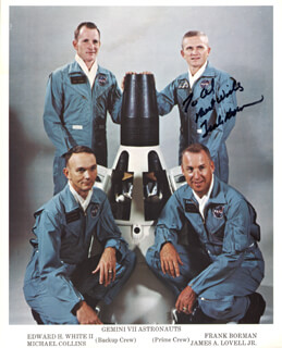 COLONEL FRANK BORMAN - AUTOGRAPHED INSCRIBED PHOTOGRAPH