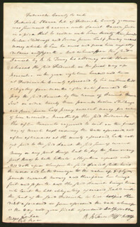 CHIEF JUSTICE ROGER B. TANEY - AUTOGRAPH LETTER SIGNED CIRCA 1802
