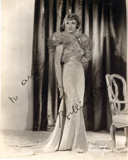 BILLIE BURKE - AUTOGRAPHED INSCRIBED PHOTOGRAPH