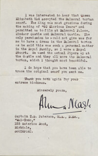 ANNA NEAGLE - TYPED LETTER SIGNED 03/17/1943