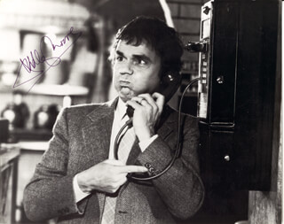 DUDLEY MOORE - AUTOGRAPHED SIGNED PHOTOGRAPH