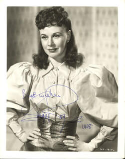 GINGER ROGERS - AUTOGRAPHED SIGNED PHOTOGRAPH 1968