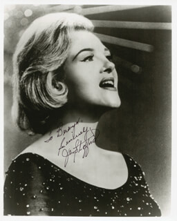 JO STAFFORD - AUTOGRAPHED INSCRIBED PHOTOGRAPH