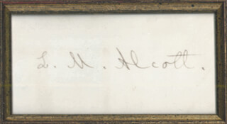 Louisa May Alcott Memorabilia 155441