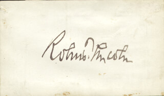 Autographs: ROBERT TODD LINCOLN - SIGNATURE(S)