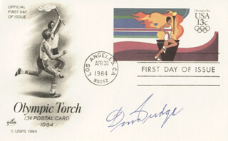 DON BUDGE - FIRST DAY COVER SIGNED