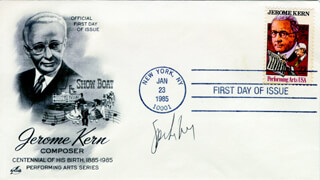 SPIKE LEE - FIRST DAY COVER SIGNED