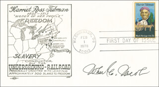 JOHN E. JACOB - FIRST DAY COVER SIGNED