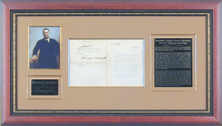 Autographs: PRESIDENT THEODORE ROOSEVELT - TYPED LETTER SIGNED 07/24/1906
