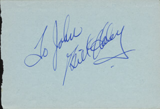WILLIAM J. BILL HALEY JR. - INSCRIBED ALBUM LEAF SIGNED