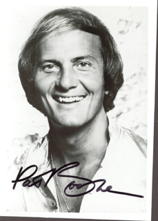 PAT BOONE - AUTOGRAPHED SIGNED PHOTOGRAPH