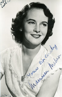 MAUREEN MELVIN - AUTOGRAPHED SIGNED PHOTOGRAPH