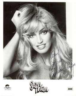 SUSAN ANTON - AUTOGRAPHED INSCRIBED PHOTOGRAPH 01/28/1980