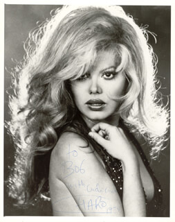 CHARO - AUTOGRAPHED INSCRIBED PHOTOGRAPH 1975