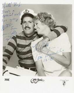 CAPTAIN & TENNILLE - AUTOGRAPHED INSCRIBED PHOTOGRAPH 12/1981 CO-SIGNED BY: CAPTAIN & TENNILLE (DARYL DRAGON), CAPTAIN & TENNILLE (TONI TENNILLE)