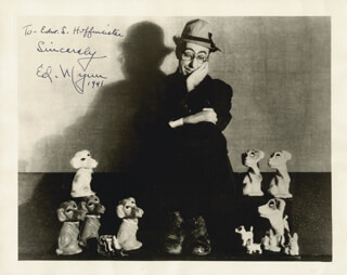 ED WYNN - AUTOGRAPHED INSCRIBED PHOTOGRAPH 1941