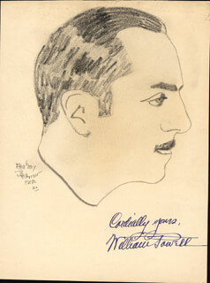 WILLIAM POWELL - ORIGINAL ART SIGNED CO-SIGNED BY: MAGERY BRUNO-FETS