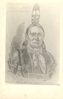 Chief Fred Lookout Memorabilia 156769