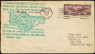 WALTER HINTON - COMMEMORATIVE ENVELOPE SIGNED
