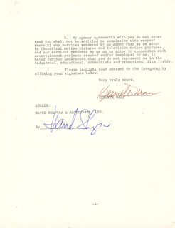 KENNETH MARS - DOCUMENT SIGNED 01/05/1979 CO-SIGNED BY: DAVID SHAPIRA