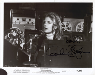 CANDICE BERGEN - AUTOGRAPHED SIGNED PHOTOGRAPH  - HFSID 157010