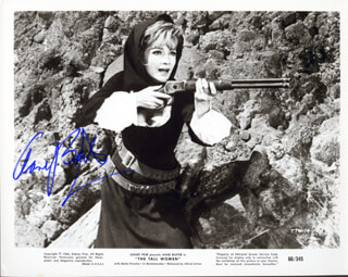 ANNE BAXTER - AUTOGRAPHED SIGNED PHOTOGRAPH CIRCA 1966