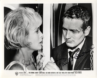 HARPER MOVIE CAST - AUTOGRAPHED SIGNED PHOTOGRAPH CO-SIGNED BY: PAUL NEWMAN, JANET LEIGH